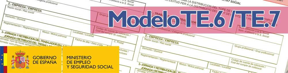 Models TE.6 i TE.7